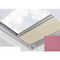Fakro - ARF/D II 232 - Flat Roof Manual Blackout Blind - Red Violet