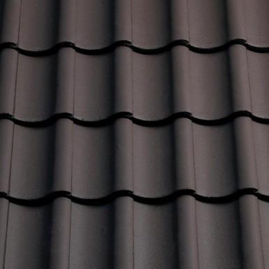 Sandtoft Shire Pantile - Concrete Tile - Smooth Brown