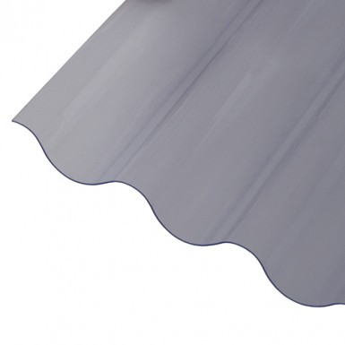 Corrapol - PVC Corrugated Sheet - Clear (0.8mm)