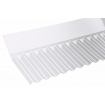 Corolux - Mini Corrugated PVC Wall Flashing - Clear (713mm)