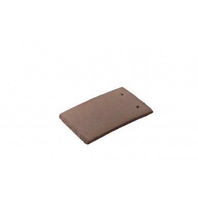 Redland Plain Tile - Concrete Tile - Smooth Tudor Brown (6151)