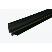 Corovent CDV - 5m Continuous Dry Verge (R Profile) - Black