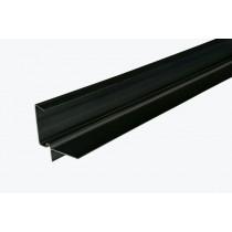 Corovent CDV - 5m Continuous Dry Verge (R Profile) - Black