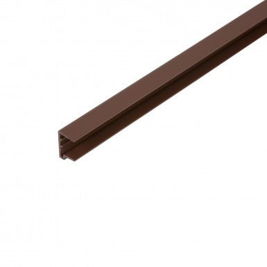 Corotherm - 16mm Polycarbonate Sheet End Caps - Brown (2100mm Pack of 2)