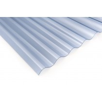 "Corolite Iron - 3"" Corrugated Polycarbonate Sheet"