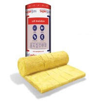 Superglass - Multi-Roll 44 Loft Roll Insulation (10.10m x 1200 x 100mm - 12.12m2)