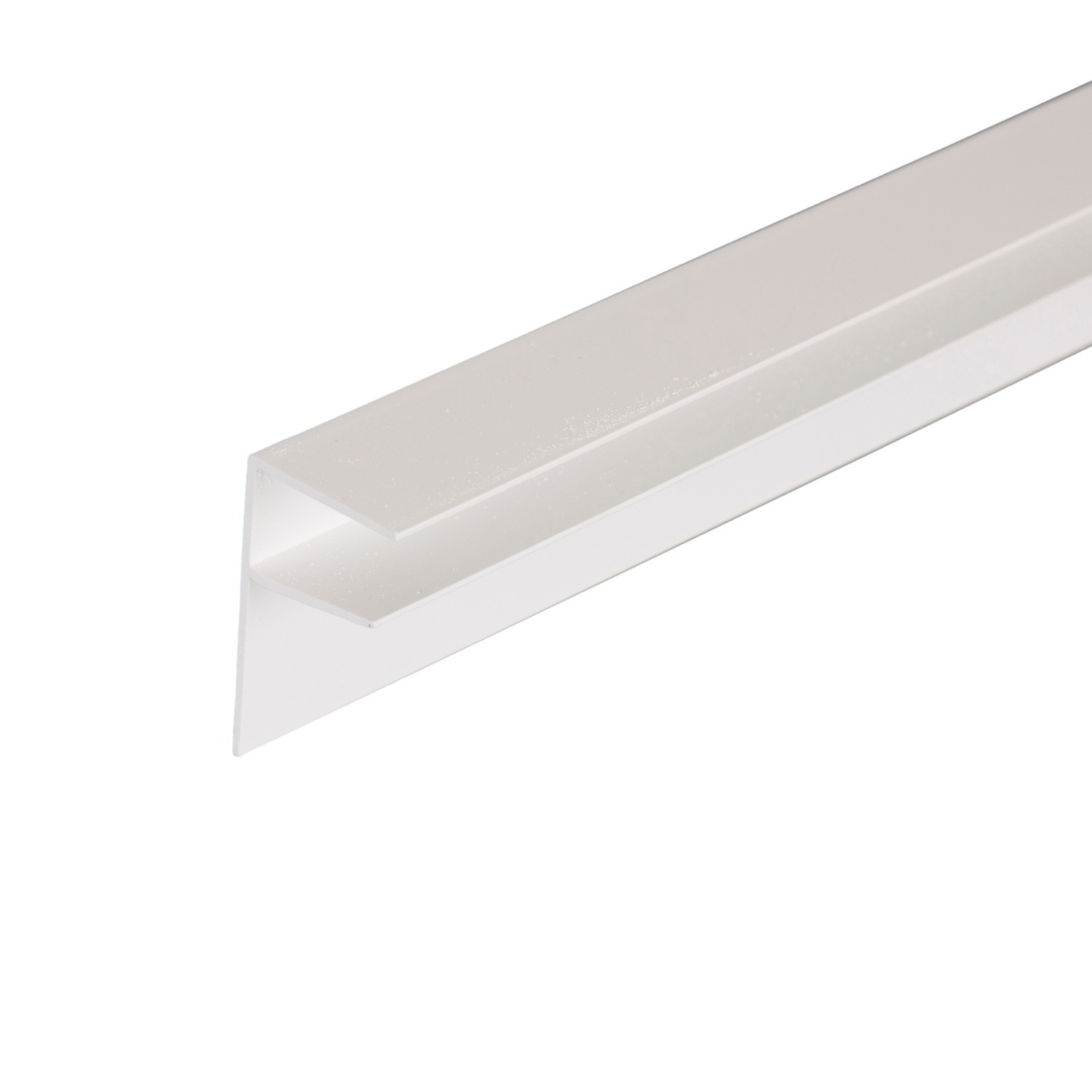 Corotherm - 16mm Polycarbonate Sheet Side Flashing -  White (4m)
