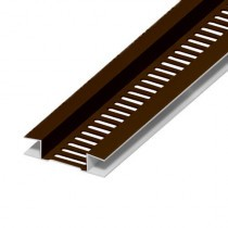 Soffit Board Ventilation Strip - 10mm - Brown (5m)