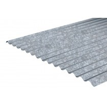 Galvanised Steel Corrugated Roofing Sheet (14/3) - 0.5mm / 0.7mm