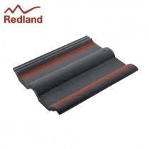 Redland 50 Double Roman - Concrete Tile - Smooth Breckland Black (2201)