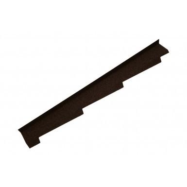 Britmet - Left Hand Side Wall Flashing - Bramble Brown (1250mm)
