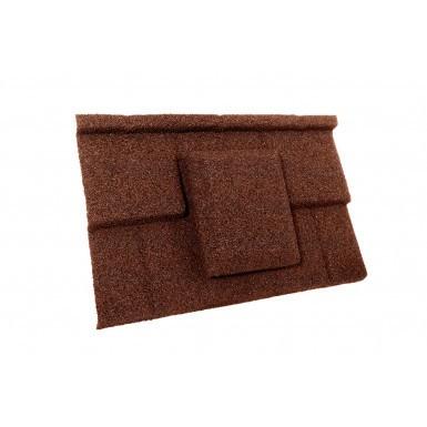 Britmet - Plaintile - Air Vent Tile - Rustic Terracotta
