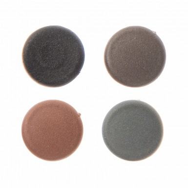 Envirotile - Screw Cover Caps Large - Anthracite (Pack 25)