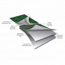 Easy-Trim Fortis Integrate - Heavyweight Felt Breather Membrane with Acrylic Taping - 165gsm