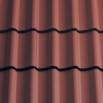 Sandtoft Double Pantile - Concrete Tile - Smooth Terracotta