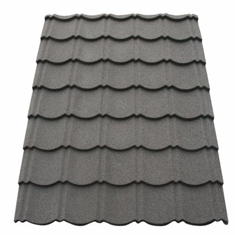 Corotile Lightweight Metal Roofing Sheet Charcoal