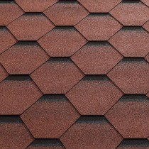 Katepal Katrilli Hexagonal Bitumen Roofing Shingles - 3m2 Per Pack