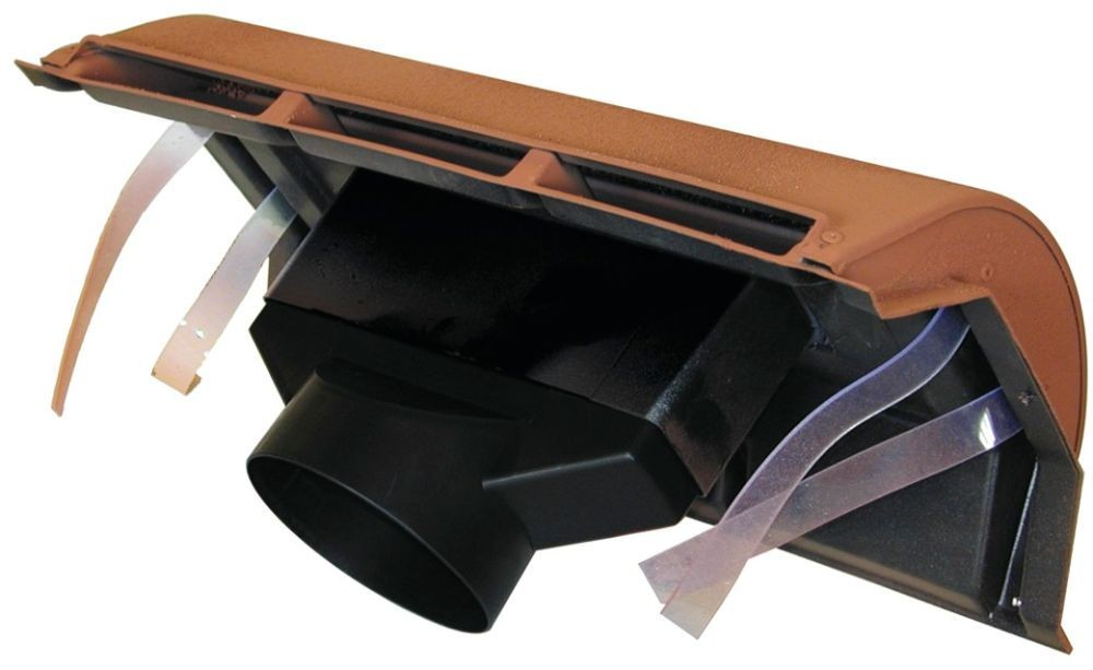 Corovent Ridge Vent With Extension Sleeve And 110mm Dia Pipe Adaptor