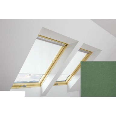 Fakro - ARS I 016 - Standard Manual Roller Blind - Basil Green