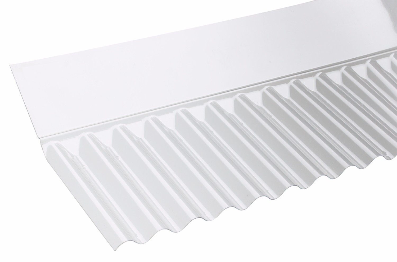Corolux Mini Corrugated Pvc Wall Flashing Clear 713mm