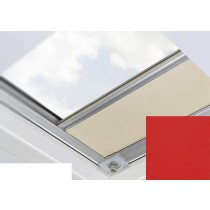 Fakro - ARF/D II 260 - Flat Roof Manual Blackout Blind - Red