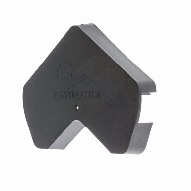 Envirotile - Gable End Cap - Anthracite