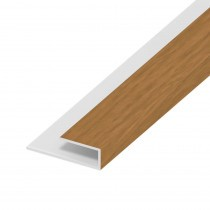 Soffit Board Wall Clip - 25mm - Irish Oak (5m)