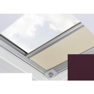 Fakro - ARF/D II 261 - Flat Roof Manual Blackout Blind - Crease Black