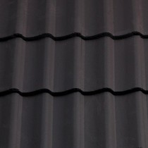 Sandtoft Double Pantile - Concrete Tile - Smooth Dark Grey