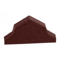 Britmet - Pantile 2000 - Ridge End Cap - Antique Red