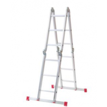 Werner 12 Way Aluminium Combination Ladder and Platform