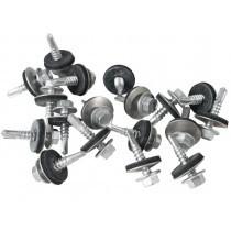 Metal Sheet to Zed Purlin TEK Screws (32mm - 175mm) - 100 Pack