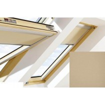 Fakro - ARF II 227 - Electrically Operated Blackout Blind (Z-Wave) - Tortilla Brown