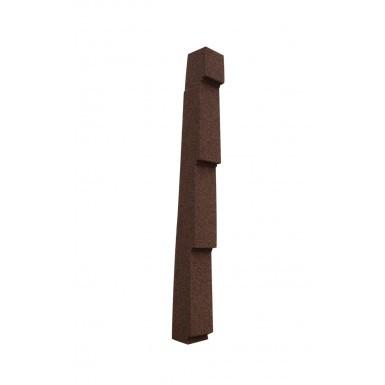 Lightweight Tiles - Granulated Verge (Side Flashing) - Left Hand - Brown