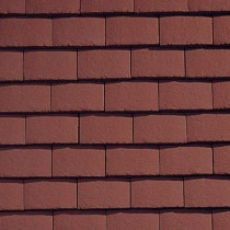 Sandtoft Standard Plain Tile - Concrete Tile - Smooth Terracotta