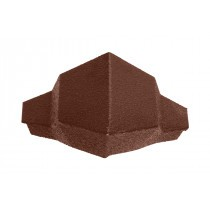 Britmet - Pantile 2000 - Hip End Cap - Terracotta
