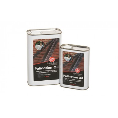 Lead Patination Oil - British Lead