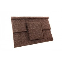 Britmet - Plaintile - Air Vent Tile - Rustic Brown