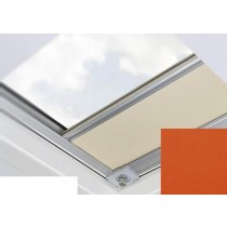 Fakro - ARF/D II 259 - Flat Roof Manual Blackout Blind - Tiger Orange