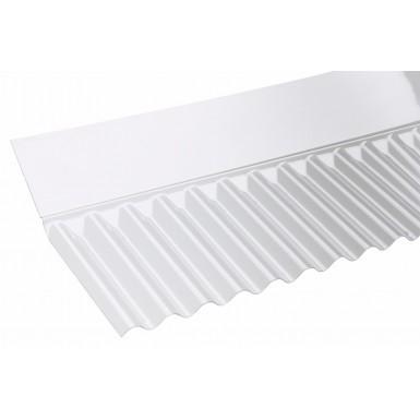 Corolux - Mini Corrugated PVC Wall Flashing - Clear (713mm)