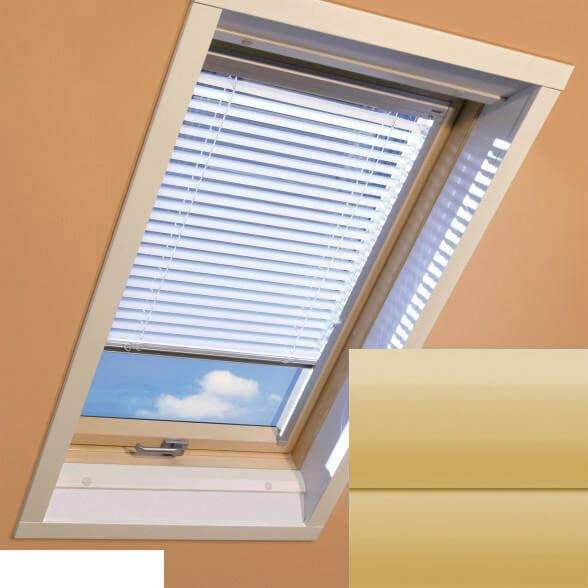 Fakro - AJP II 150 - Standard Manual Venetian Blind - Lemon