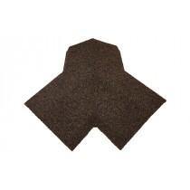Britmet - 3 Way Top Cap - Rustic Brown