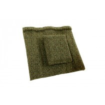 Britmet - Profile 49 - Air Vent Tile - Moss Green
