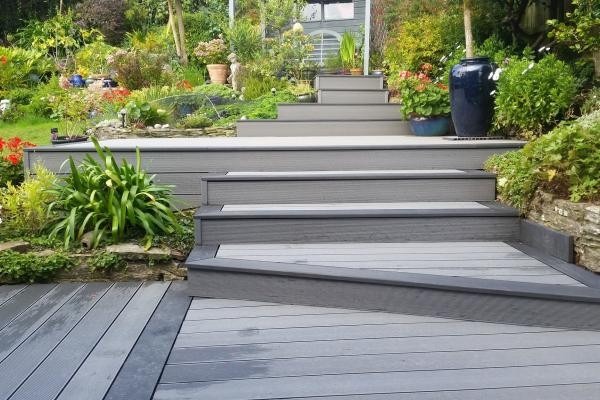 Hollow Composite Decking Boards 150mm X 25mm