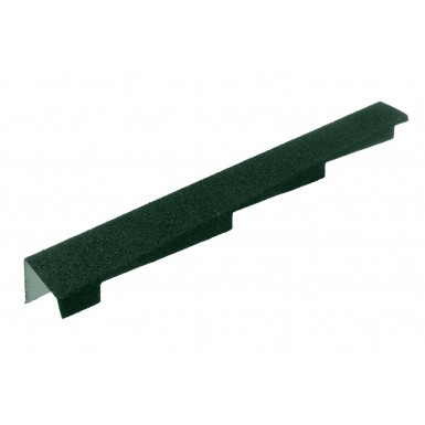 Britmet - Left Hand Barge - Tartan Green (1250mm)
