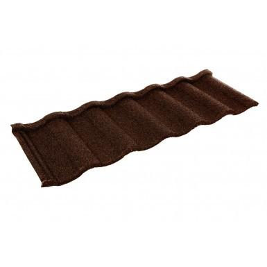 Britmet - Villatile - Lightweight Metal Roof Tile - Rustic Brown (0.45mm)