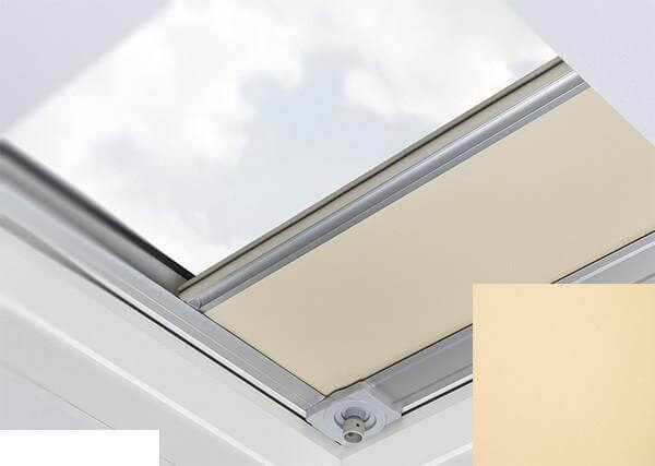 Fakro - ARF/D I 052 - Flat Roof Manual Blackout Blind - Peach