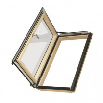 Fakro Roof Window - Side Hung Escape in Pine - Energy Efficient Double Glazing [FWL P2]