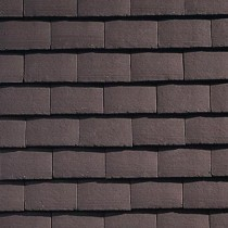 Sandtoft Standard Plain Tile - Concrete Tile - Smooth Brown
