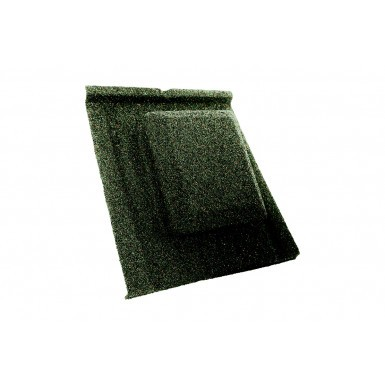 Britmet - Slate 2000 - Air Vent Tile - Moss Green